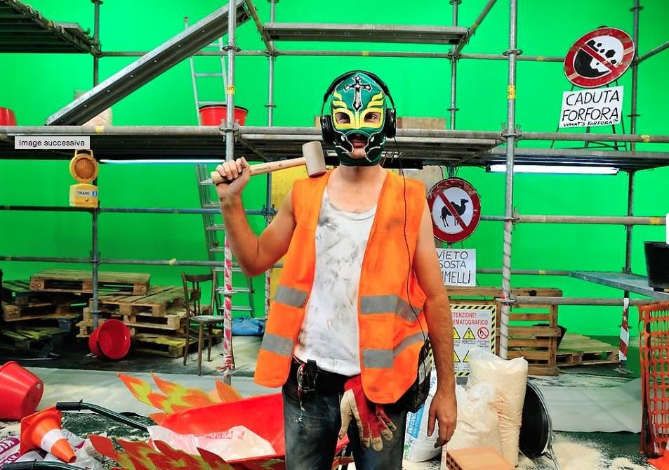 Backstage Cantiere futuro fotografo backstage, videoporto, Genova