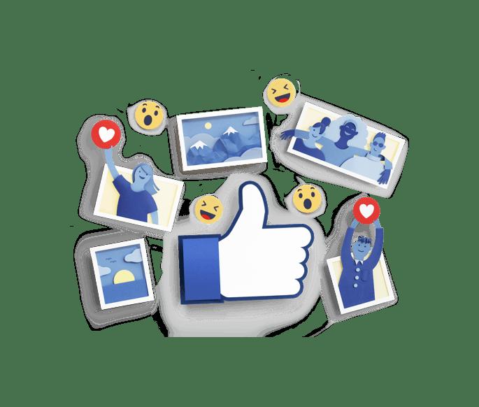 La pagan Facebook di Visualproject fotografia digital design