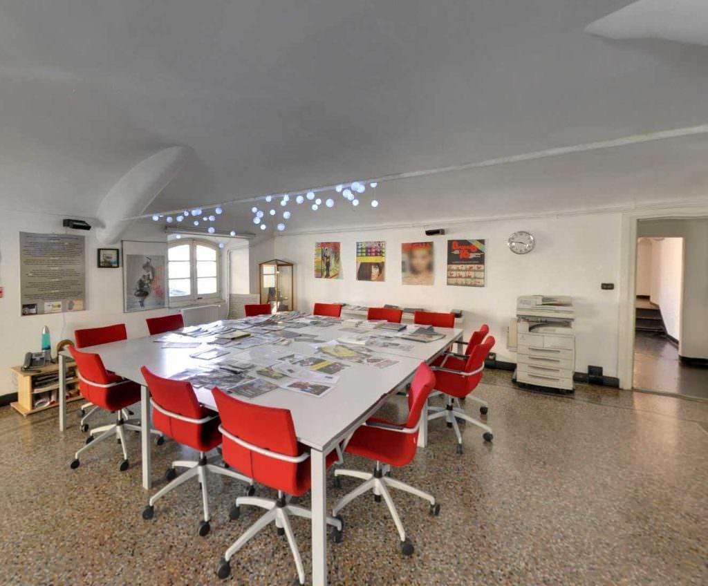 Google Maps Business View - Fondazione Genova Liguria Film Commission, servizio fotografico, fotografo genova