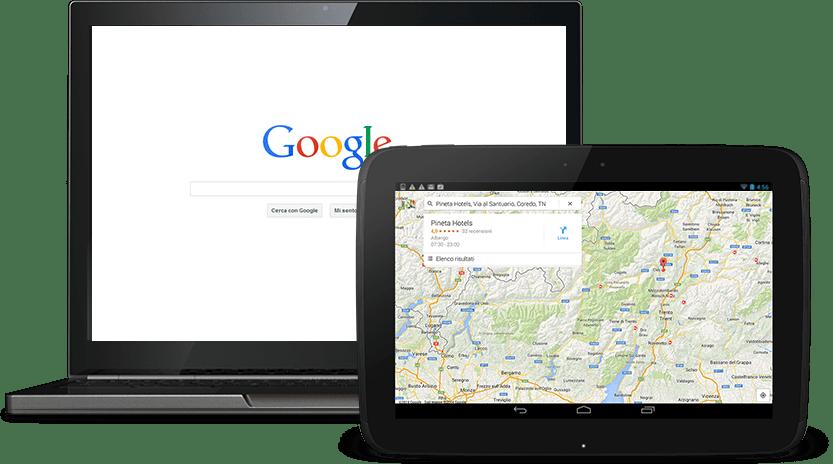 primo su Google, posizionamento locale