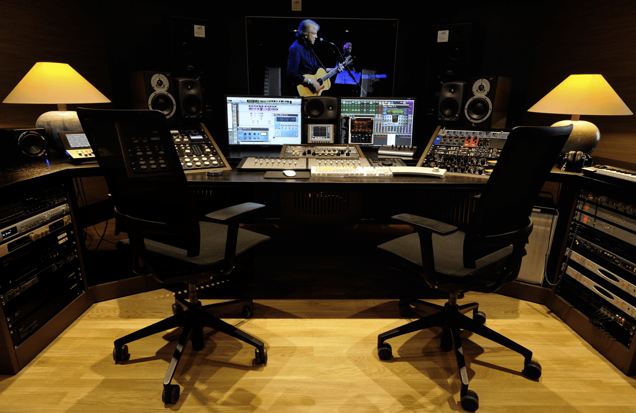 Mulinetti Recording Studio Virtual Tour Fotografia Immersiva