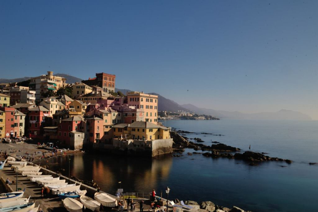 Borgo antico di Boccadasse ,Genova Lens Test