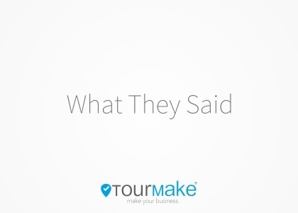 Tourmake what they said la parola ai testimonial