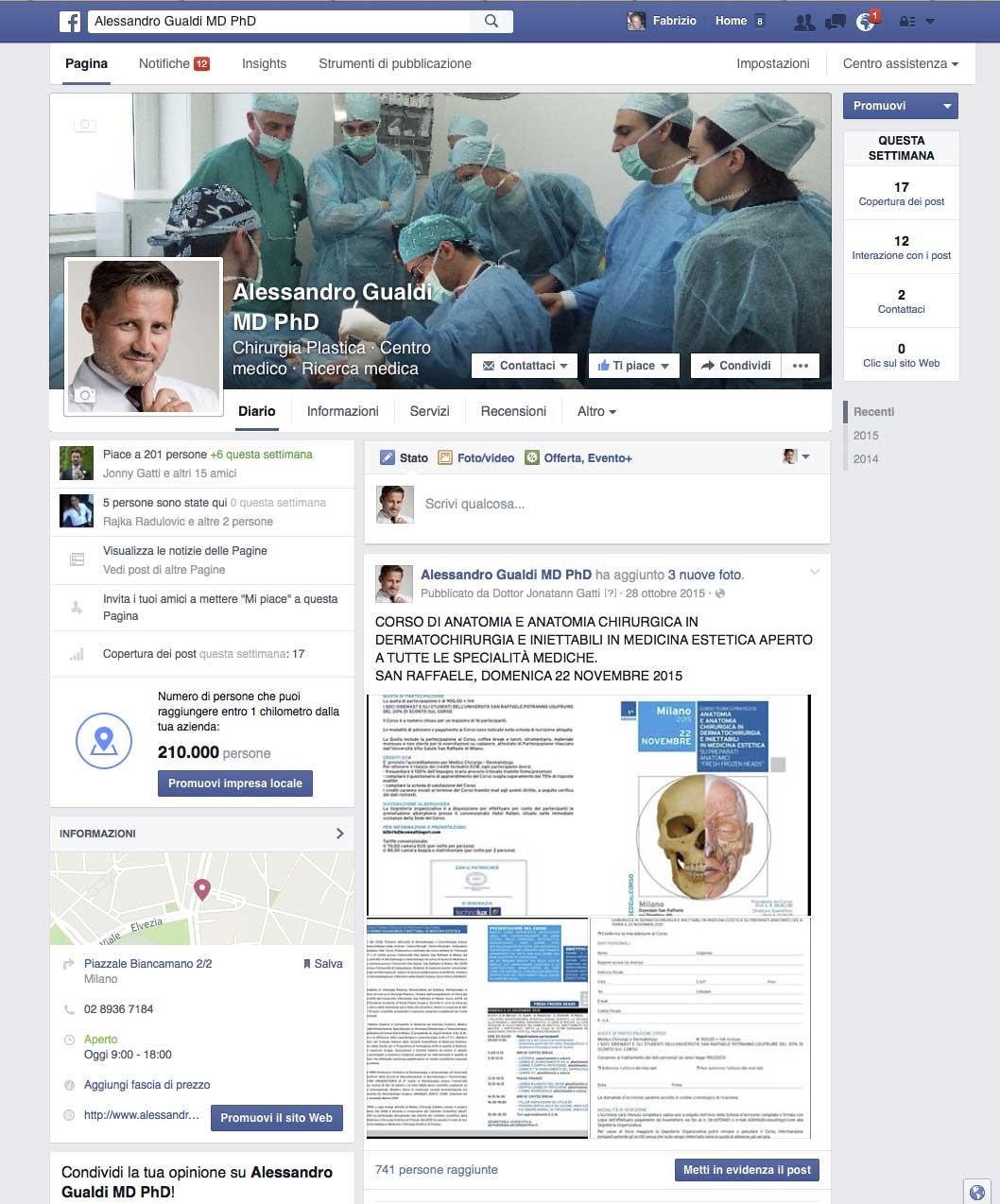 Dottor Alessandro Gualdi facebook