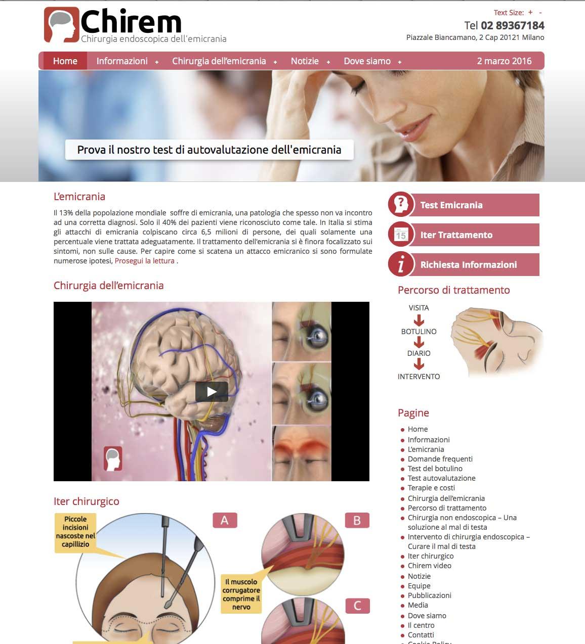 chirem – chirurgiaemicrania