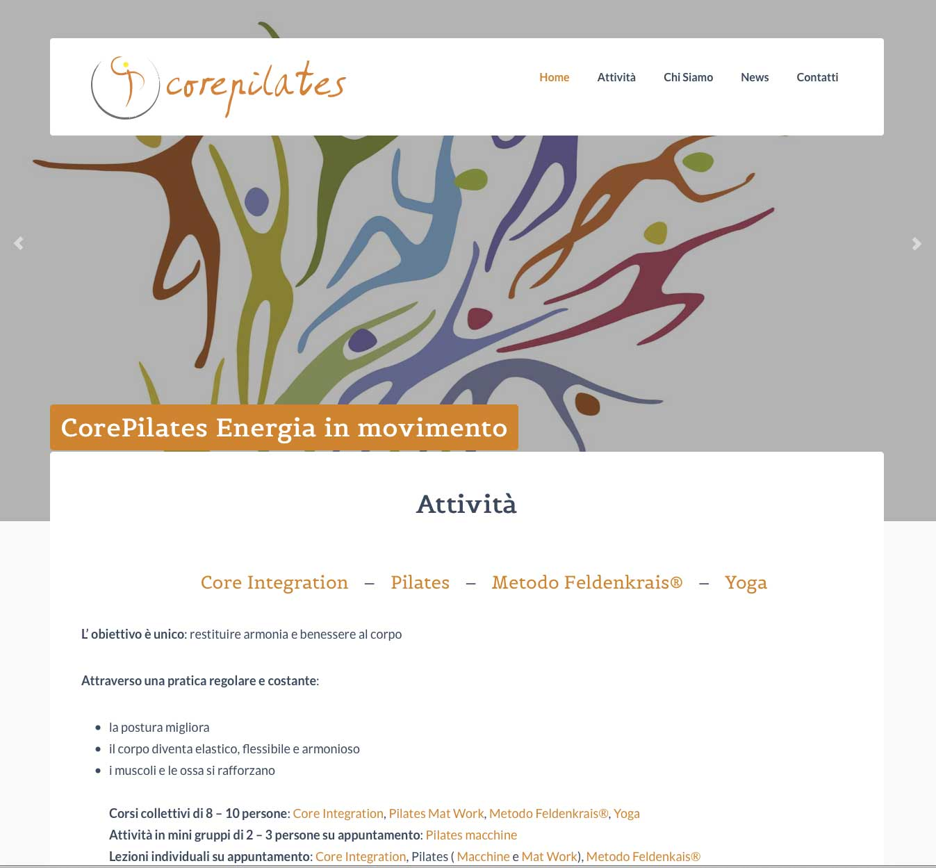 core pilates- web