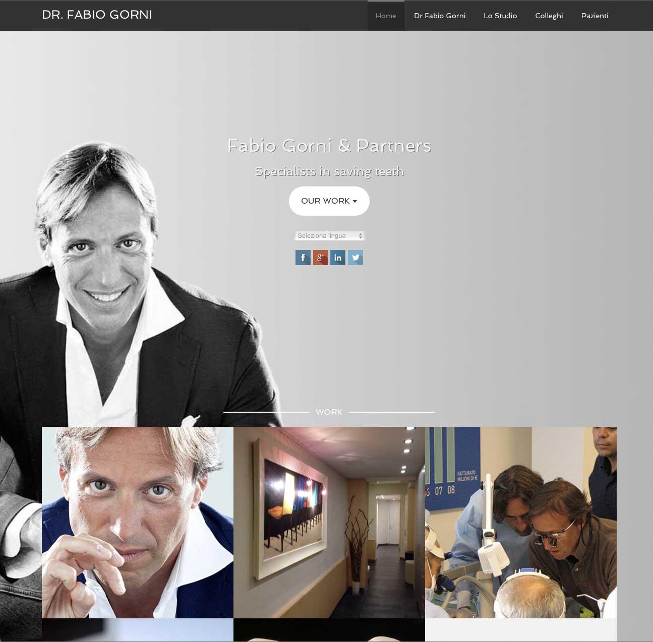 Nuovo sito internet – Dottor Fabio Gorni
