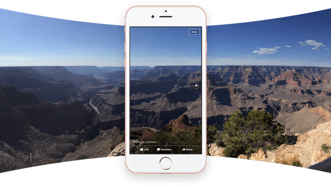 facebook-360-photos e google street view