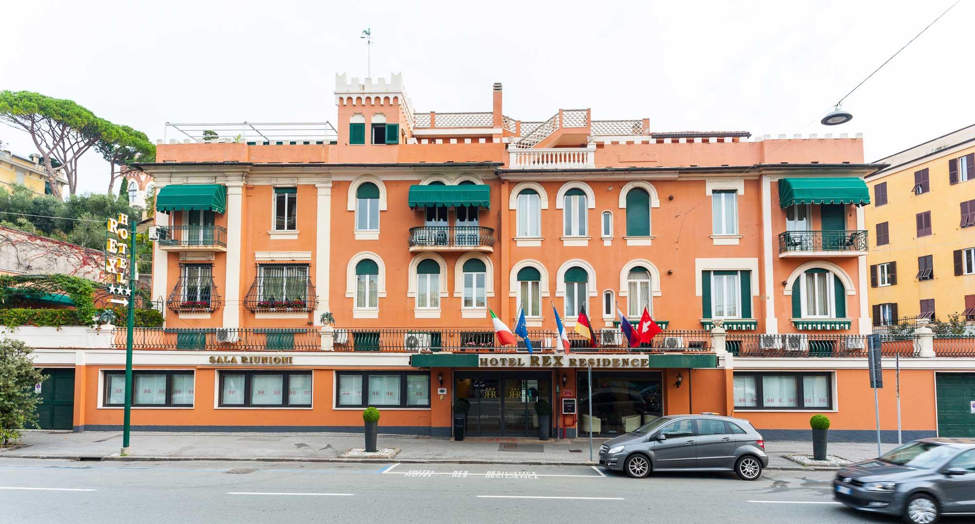 Rex Hotel, servizio fotografico, fotografo professionista genova