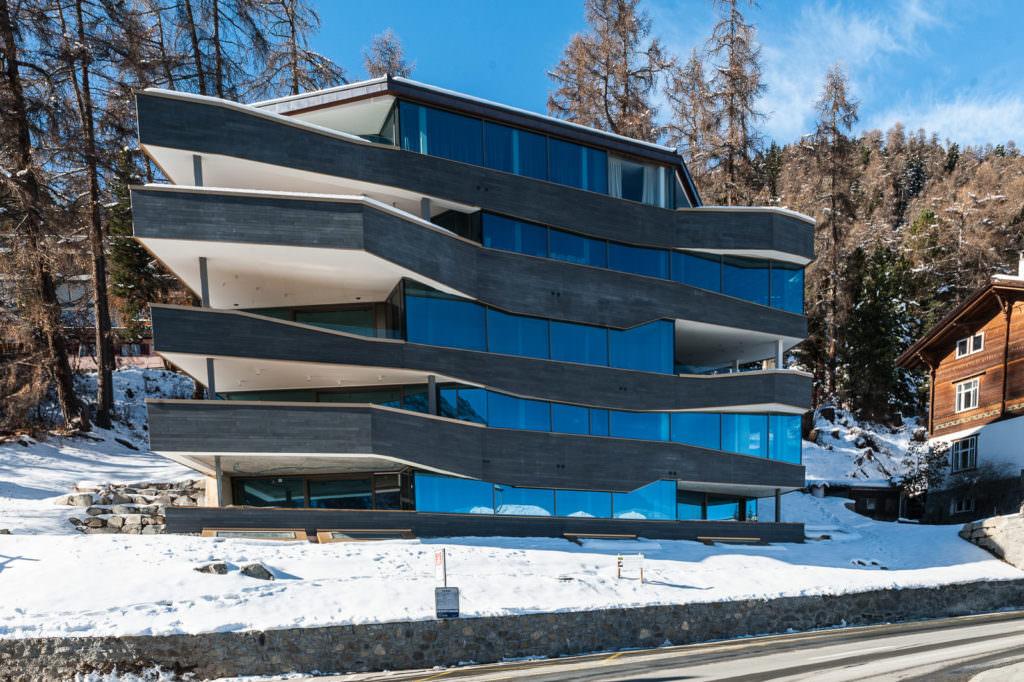 Servizio fotografico per CCTMOBILI, Saint Moritz - Wild photoshooting