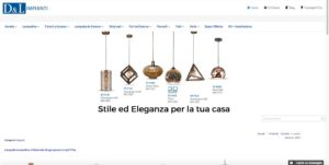 DL Impianti Store – Web design – ecommerce