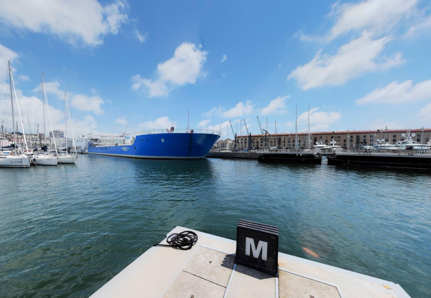 Marina porto Antico a 360