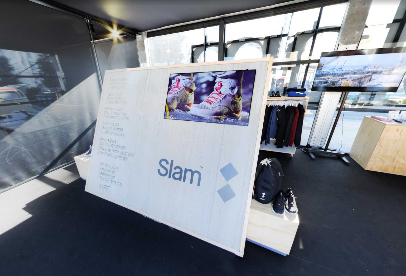 Servizio fotografico immersivo per Slam, Slam Hospitality – 49 Barcolana – Trieste