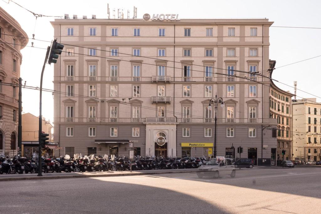 BB HOTEL, Genova - Riprese fotografiche