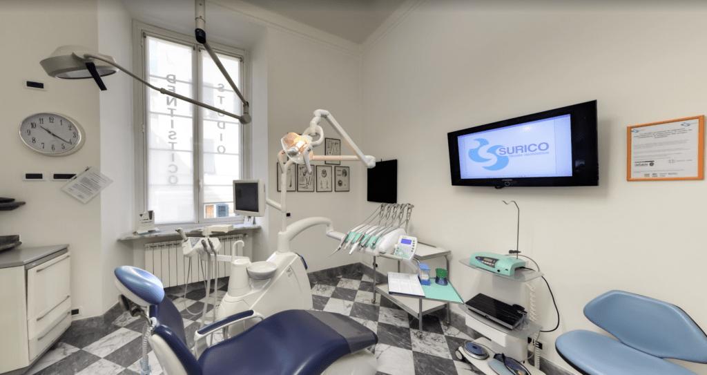 Dott. Filippo Surico, studio dentistico, Genova- Riprese per  Google Street View