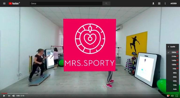 MRS Sporty Genova Video 360 5.7k