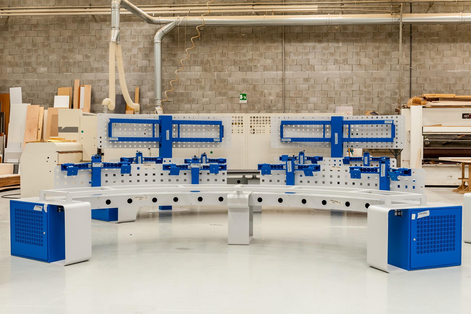CCT MOBILI, Fotografia industriale