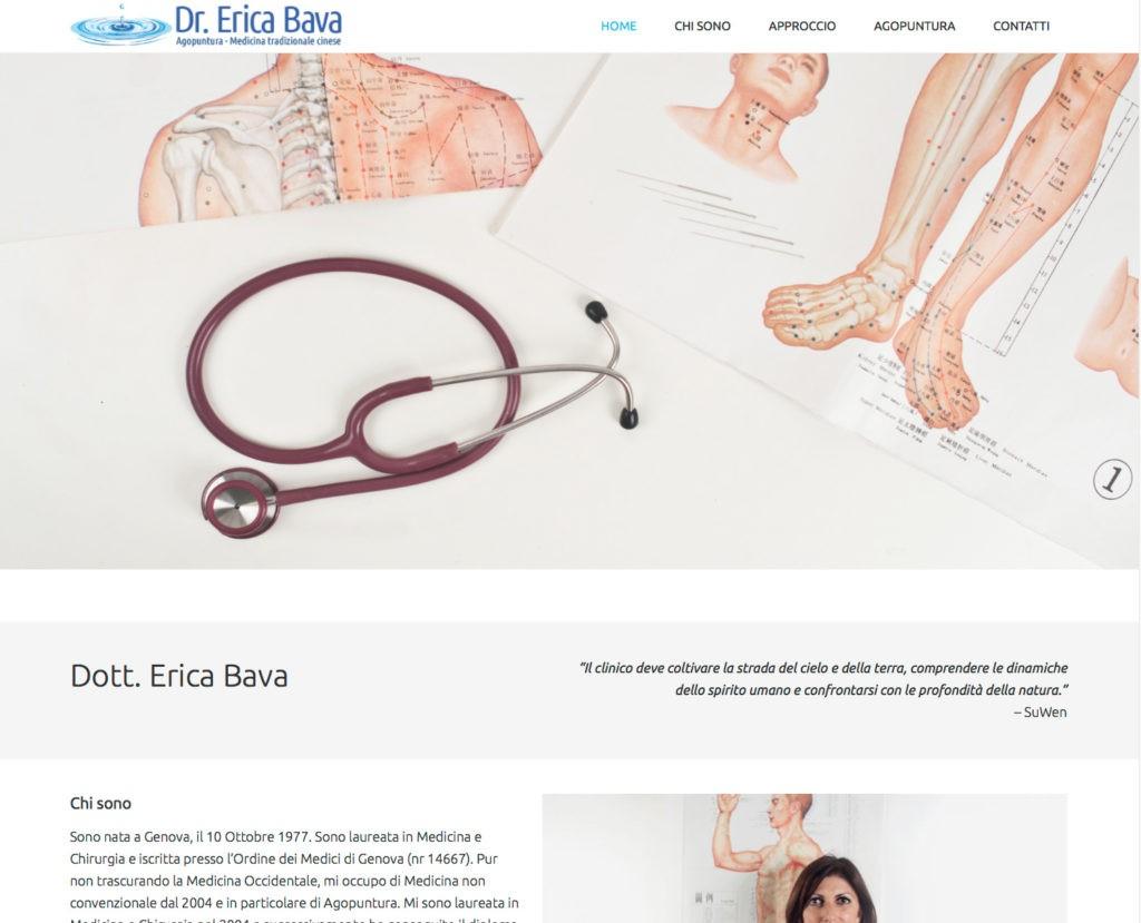 Nuovo sito internetDottoressa Erica Bava