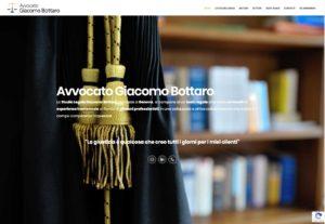 Nuovo sito internet Avvocato Giacomo Bottaro Genova