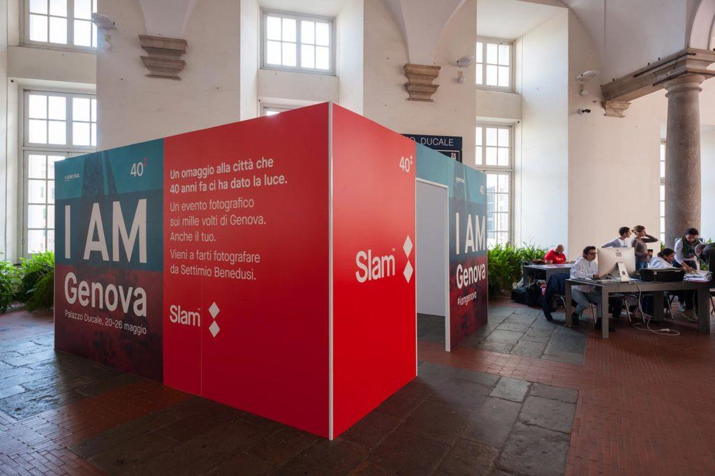 "SLAM ""I AM GENOVA"" - Palazzo Ducale Genova"