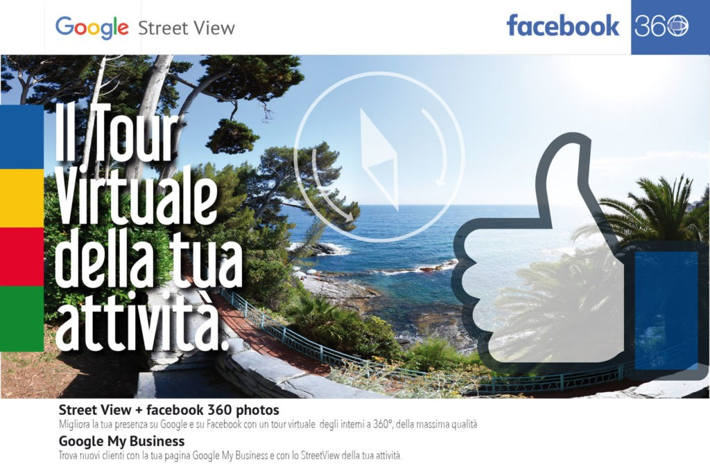 Google Street View e facebook 360