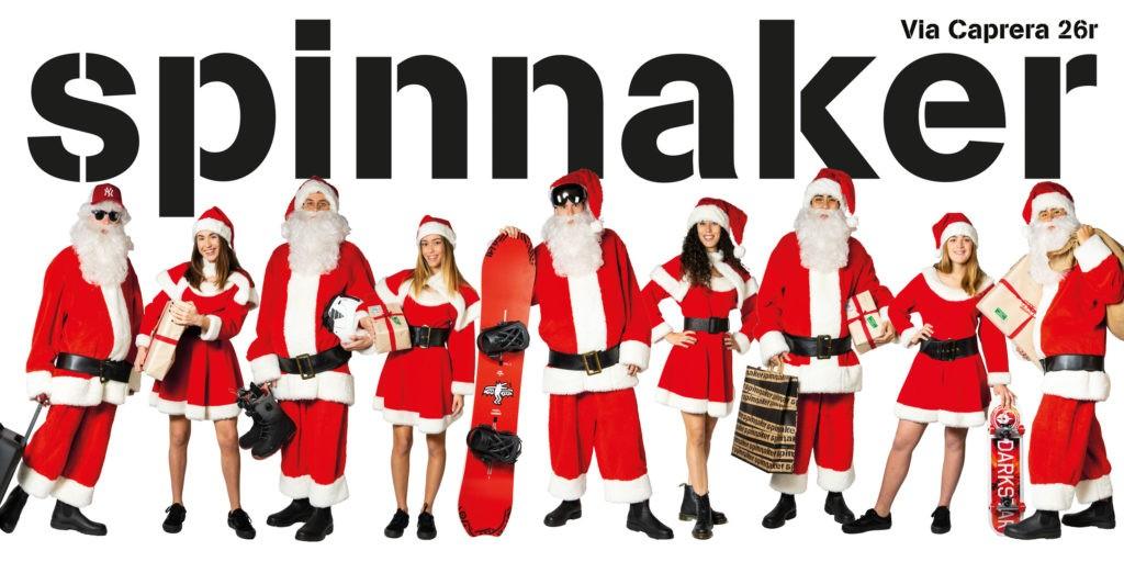 Affissioni Grandi formati per Spinnaker Natale 2019