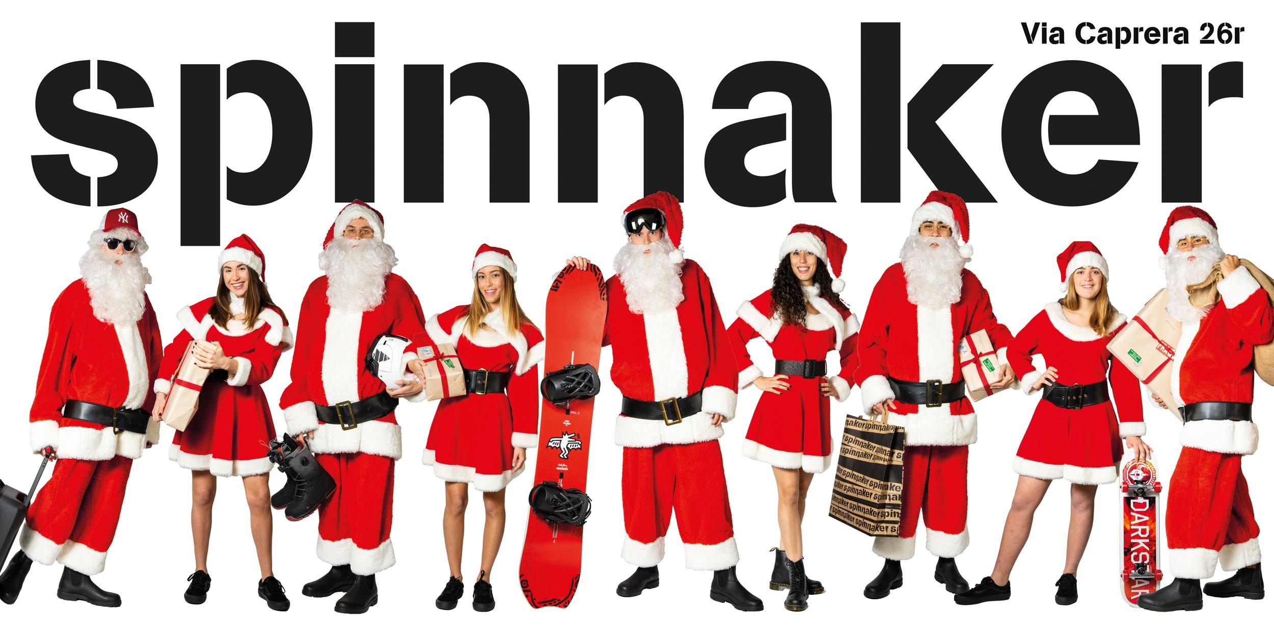 Affissioni Grandi formati per Spinnaker Natale 2019 1