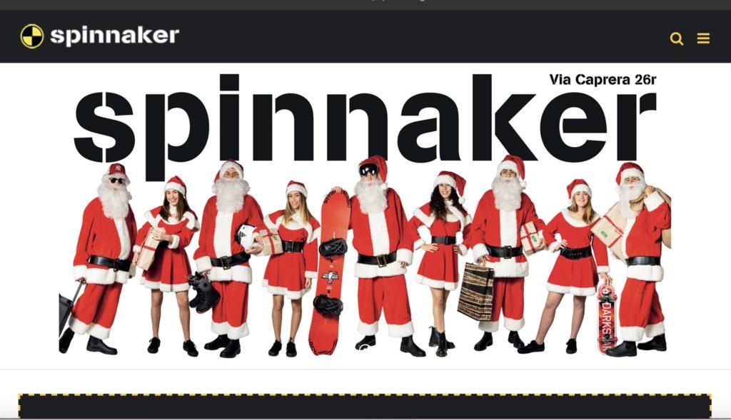 Servizio fotografico per sito internet e campagna affissioni per Spinnaker