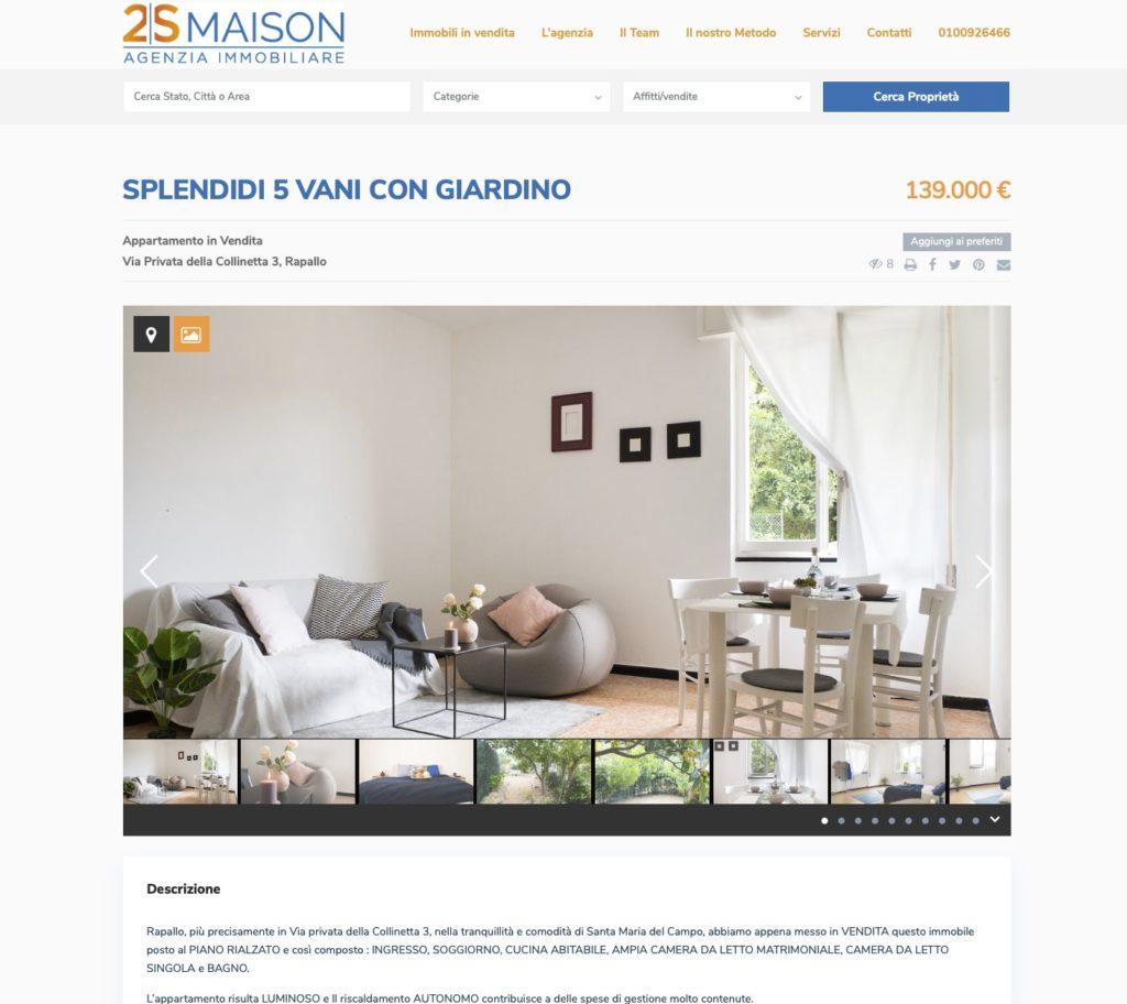 Nuovo sito inernet 2smaison.com 2
