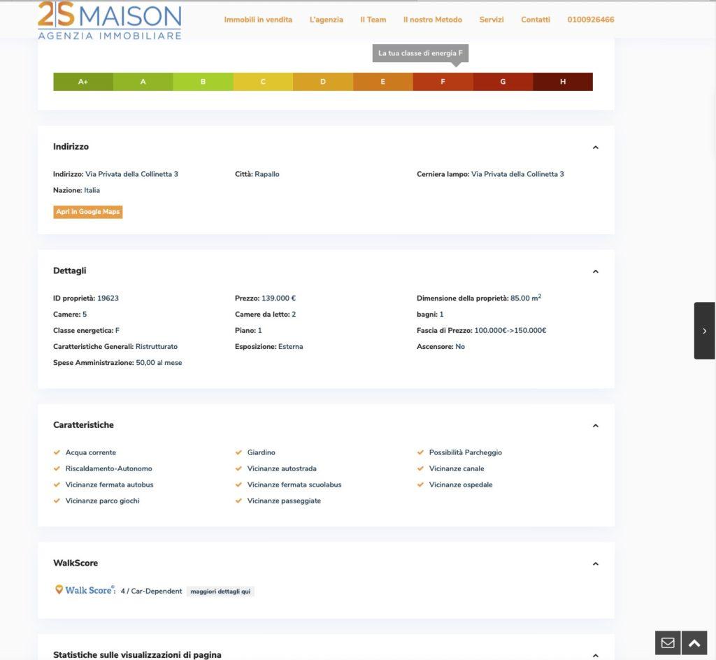 Nuovo sito inernet 2smaison.com 3
