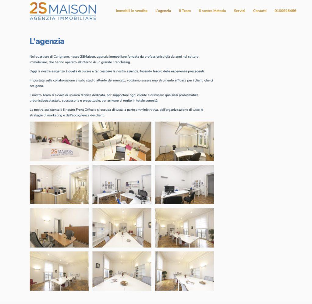 Nuovo sito inernet 2smaison.com 4