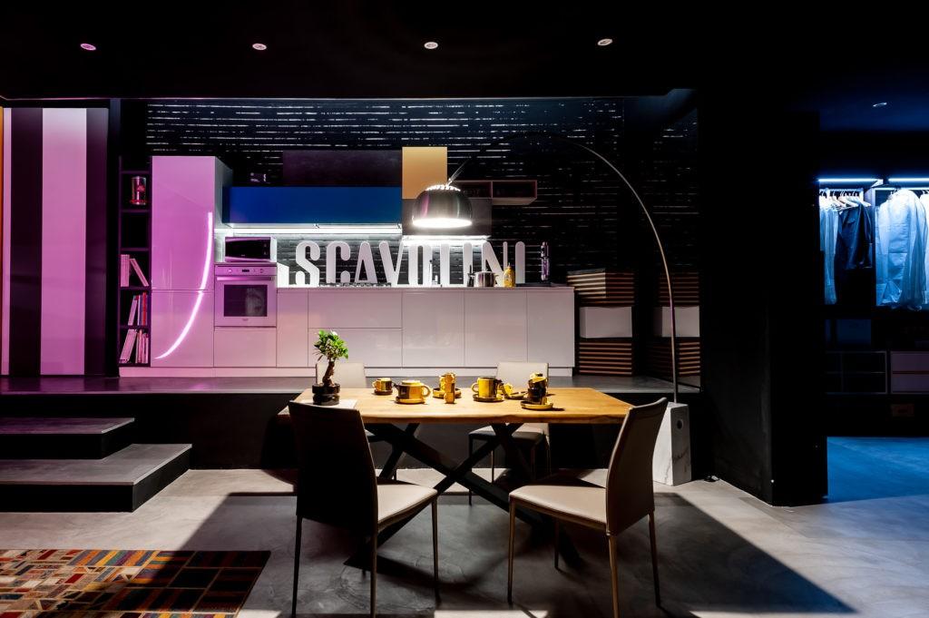 Riprese fotografiche per Mamo Design, Genova, Rivenditore cucine Scavolini - Arredo d'interni