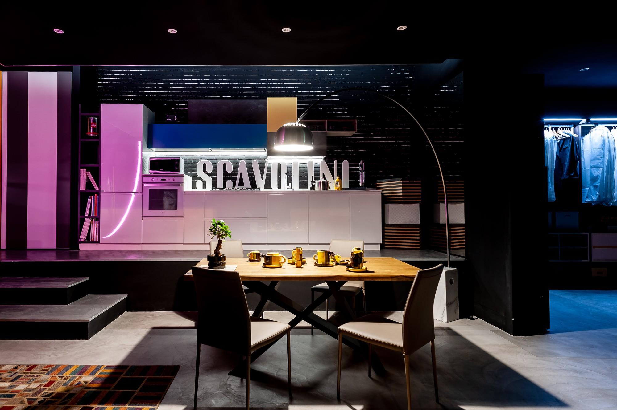 Riprese fotografiche per Mamo Design, Genova, Rivenditore cucine Scavolini - Arredo d'interni 1