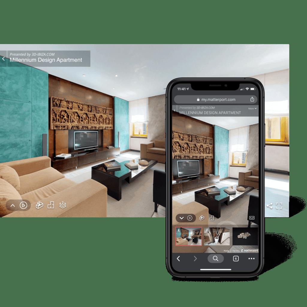 Matterport Virtual Tour - scansione fotografica 3D 2
