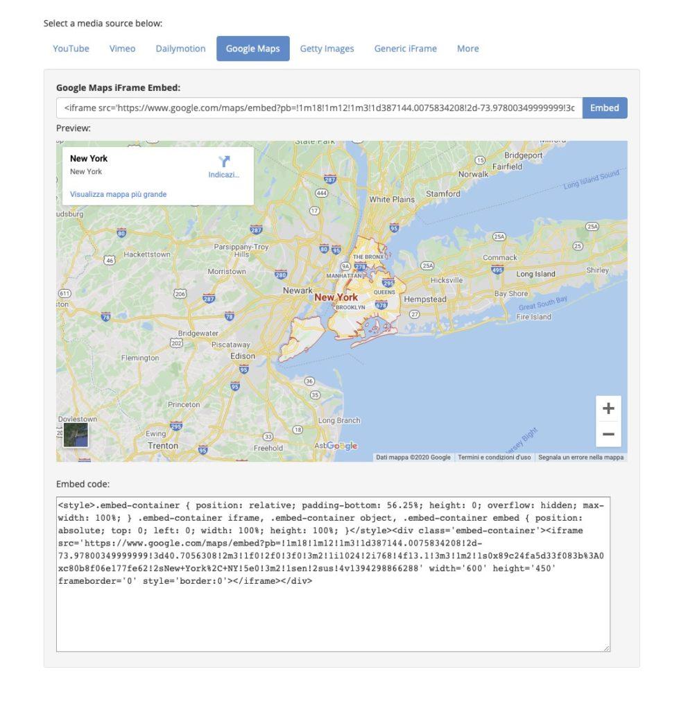 Come inserire Google Street View sul tuo sito internet 1