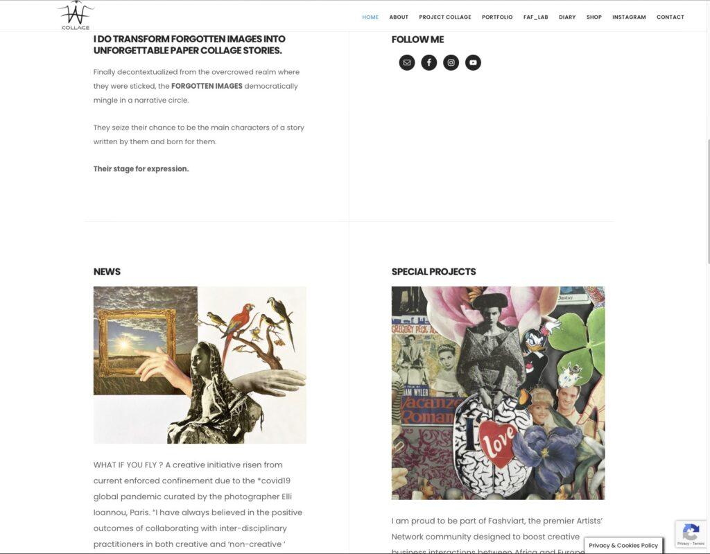 Faf Collage - Portfolio 2