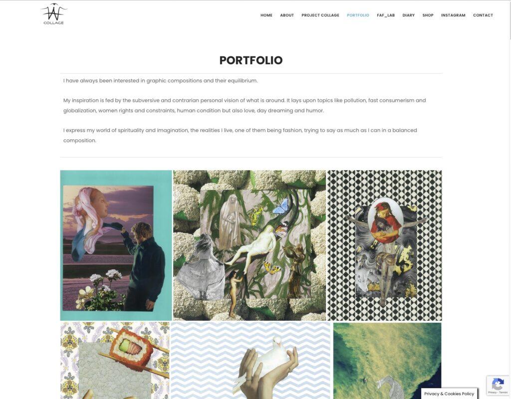 Faf Collage - Portfolio 4