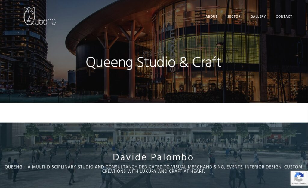 New website Queeng Studio & Craft