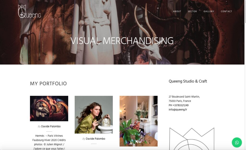 New website Queeng Studio & Craft 5