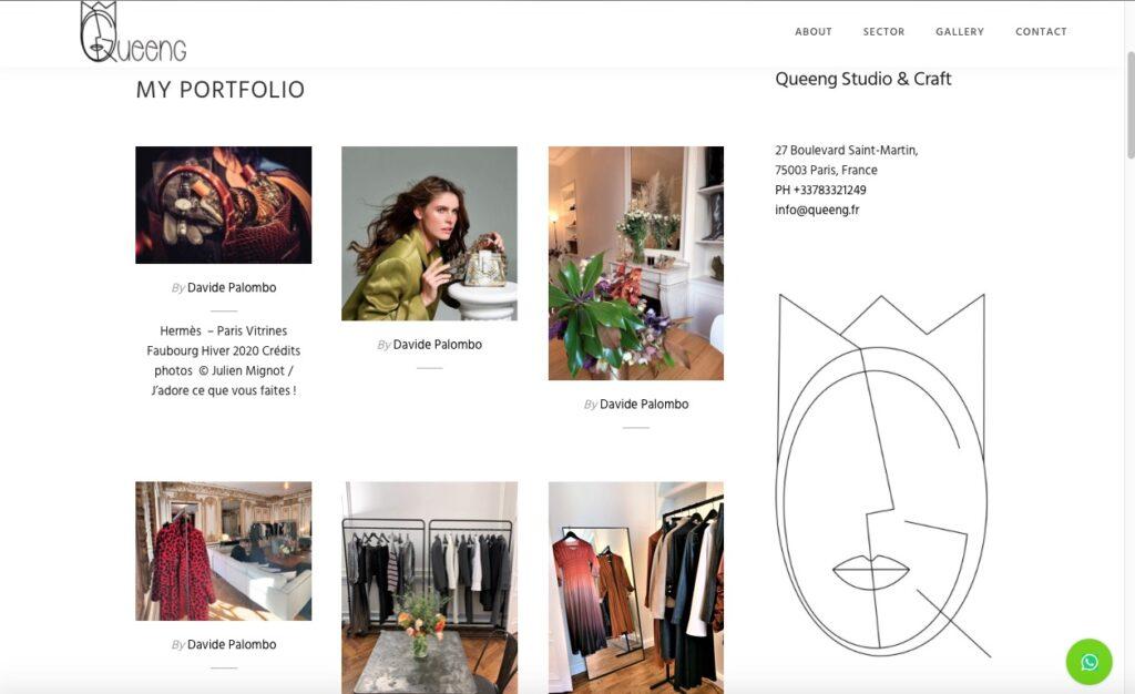 New website Queeng Studio & Craft 6