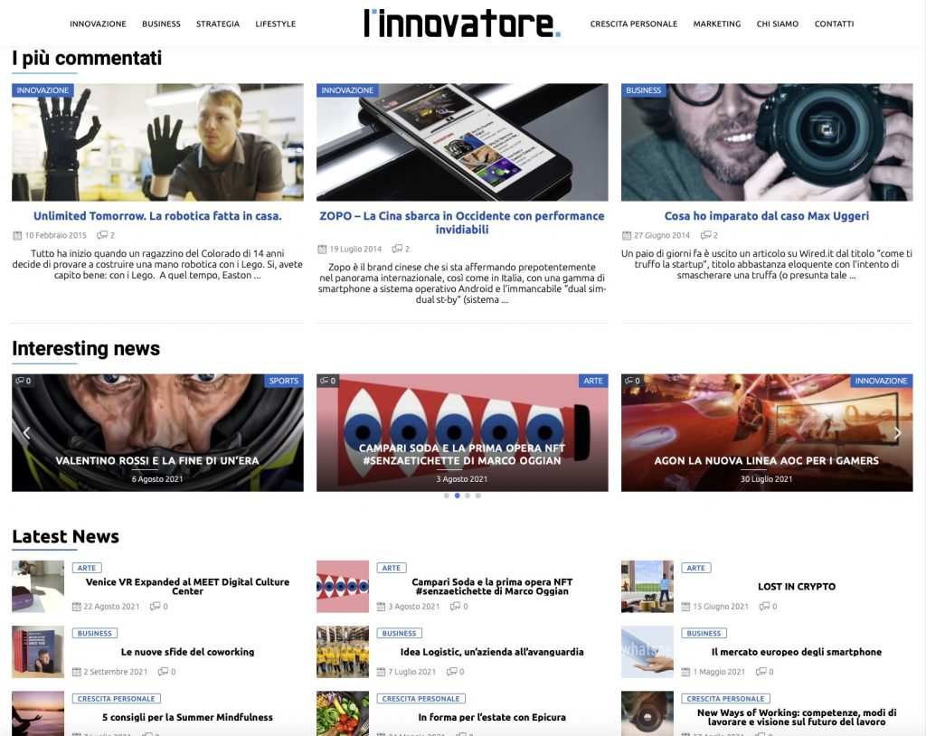 L'innovatore 3
