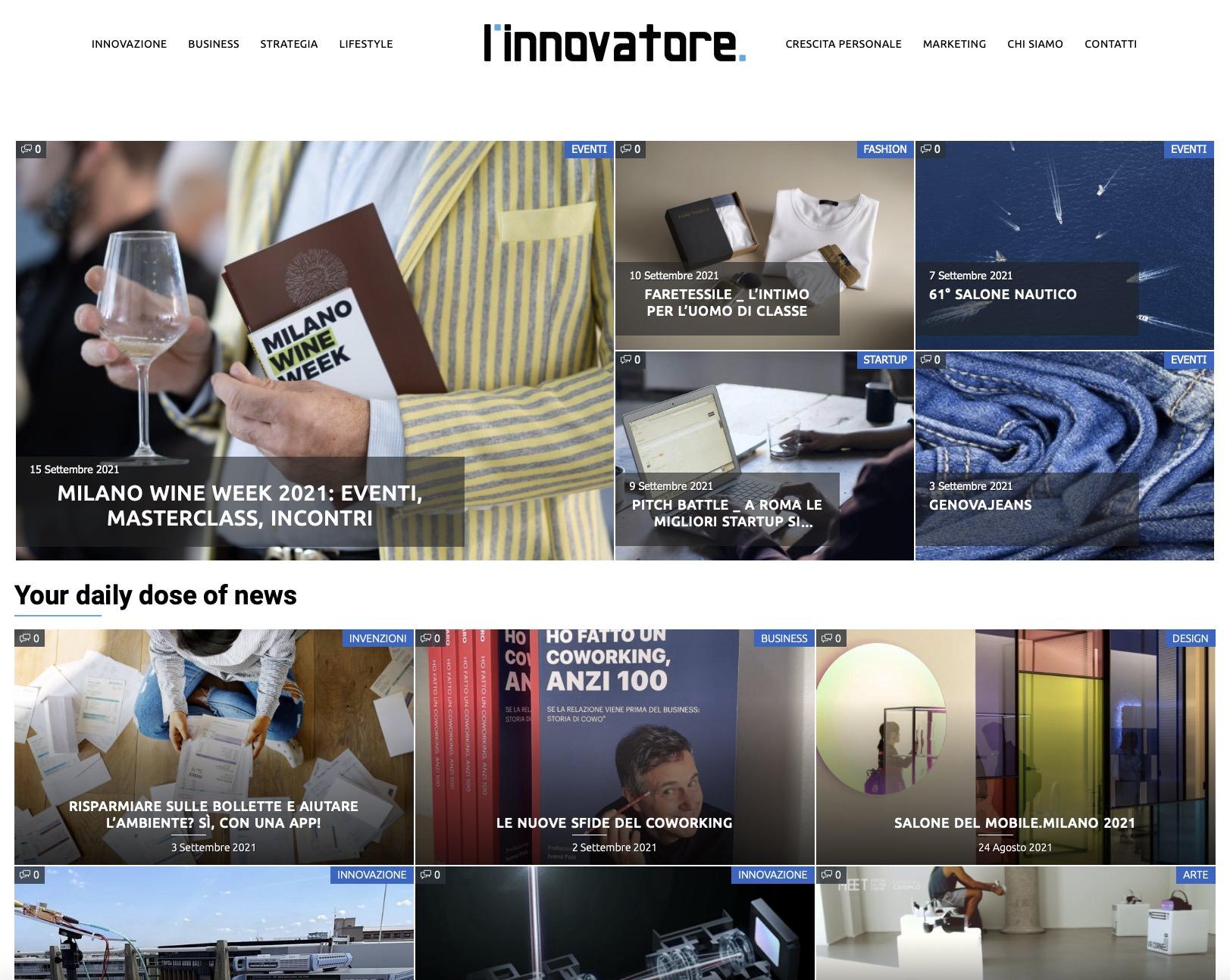 L'innovatore 1
