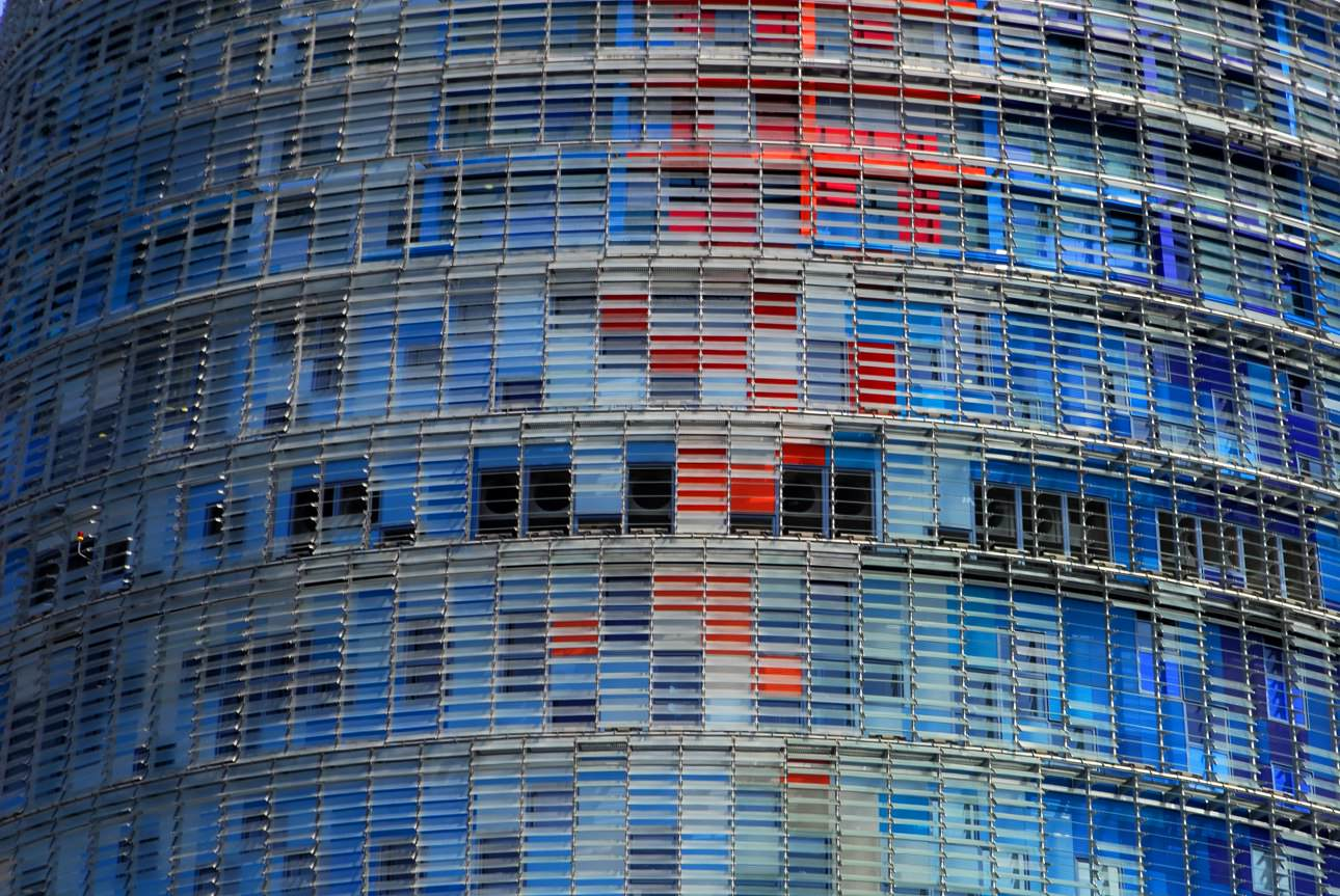 Torre Agbar, Barcelona © Fabrizio Pezzoli - visualproject, studio fotografico, web agency, fotografia, adv, web design, web marketing, genova